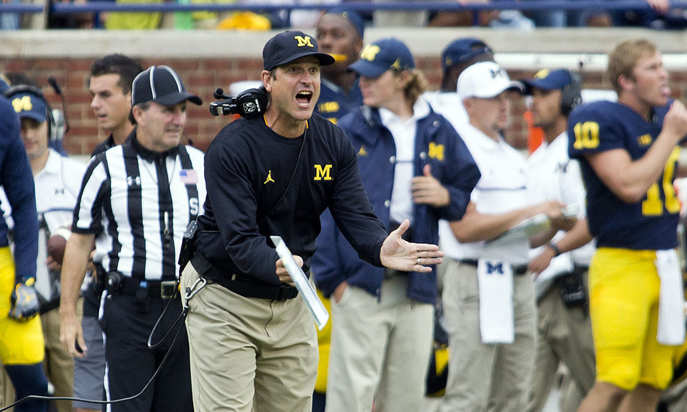 Big Ten Title or Bust for Harbaugh, Michigan?