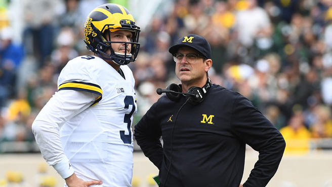 Harbaugh's Fake Quarterback Competition Part 3