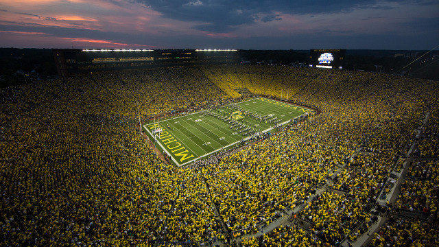 Michigan Stadium Best Venue in CFB, According to FanPoll