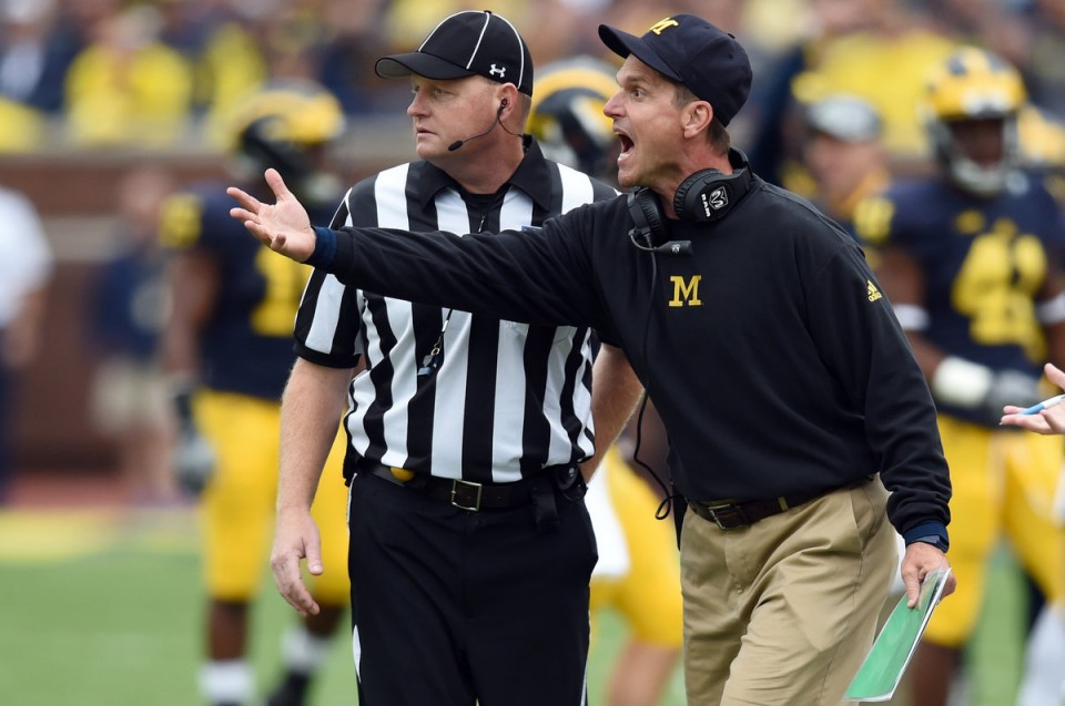 Harbaugh, Michigan in Control of their Own Destiny
