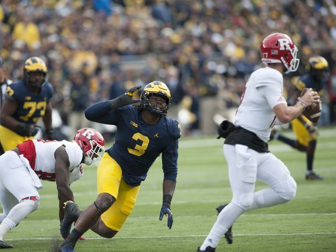 "Don Brown ""Pressure of the Week"" – Rutgers"