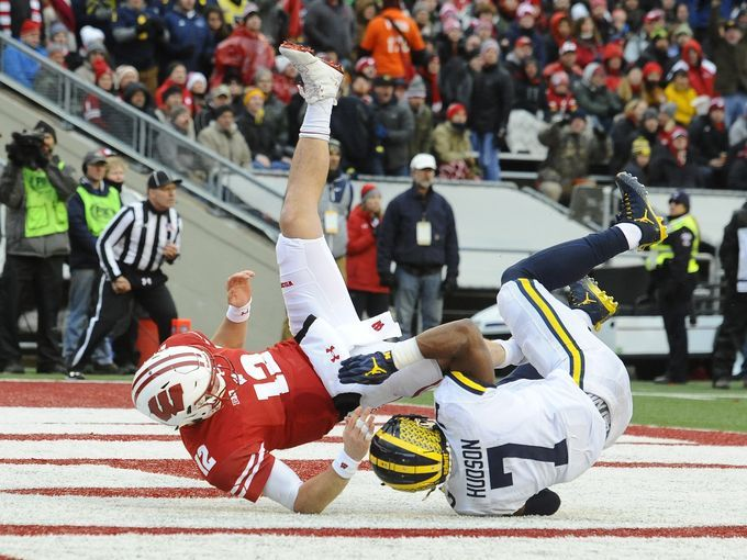 "Don Brown's ""Pressure of the Week' – Wisconsin"