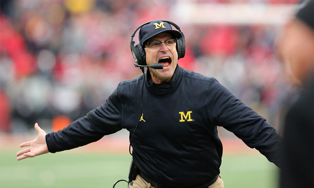 Jim Harbaugh: From God to National Punching Bag